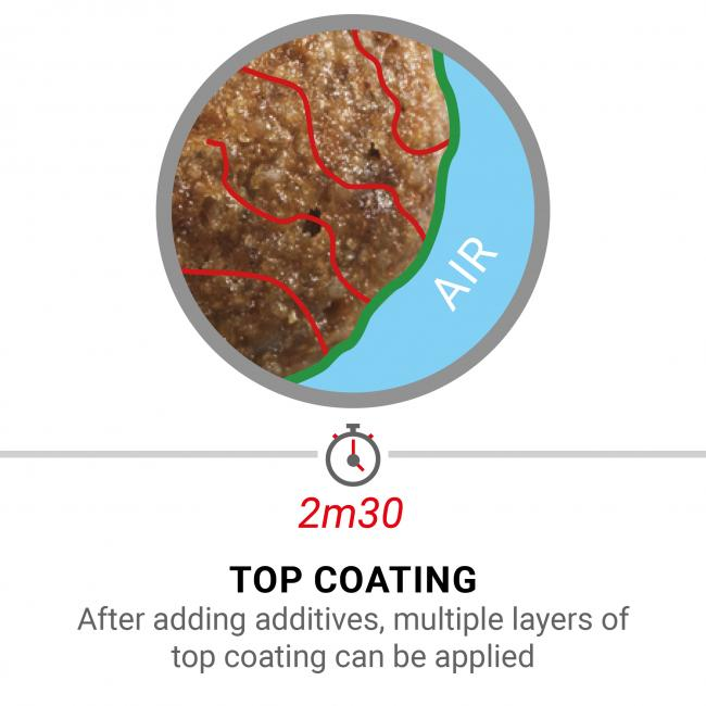 Vacuum top coating